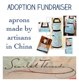 Apron Fundraiser - Scarlet Threads